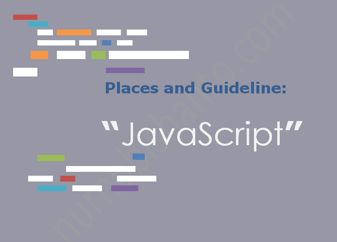 "Places and Guideline: ""Learn JavaScript"""