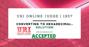 Uri Online Solve